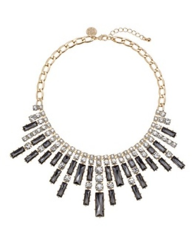 ICICLE CRYSTAL STATEMENT NECKLACE By White House Black Market